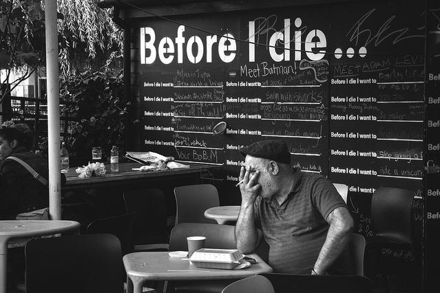 Before I die - Murales