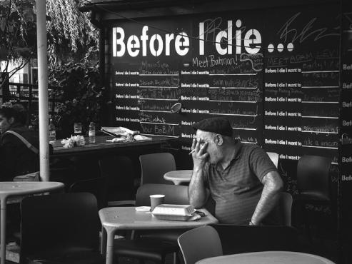 100 cose da fare prima di morire - Murales