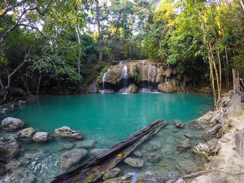 Erawan Falls - Erawan Park