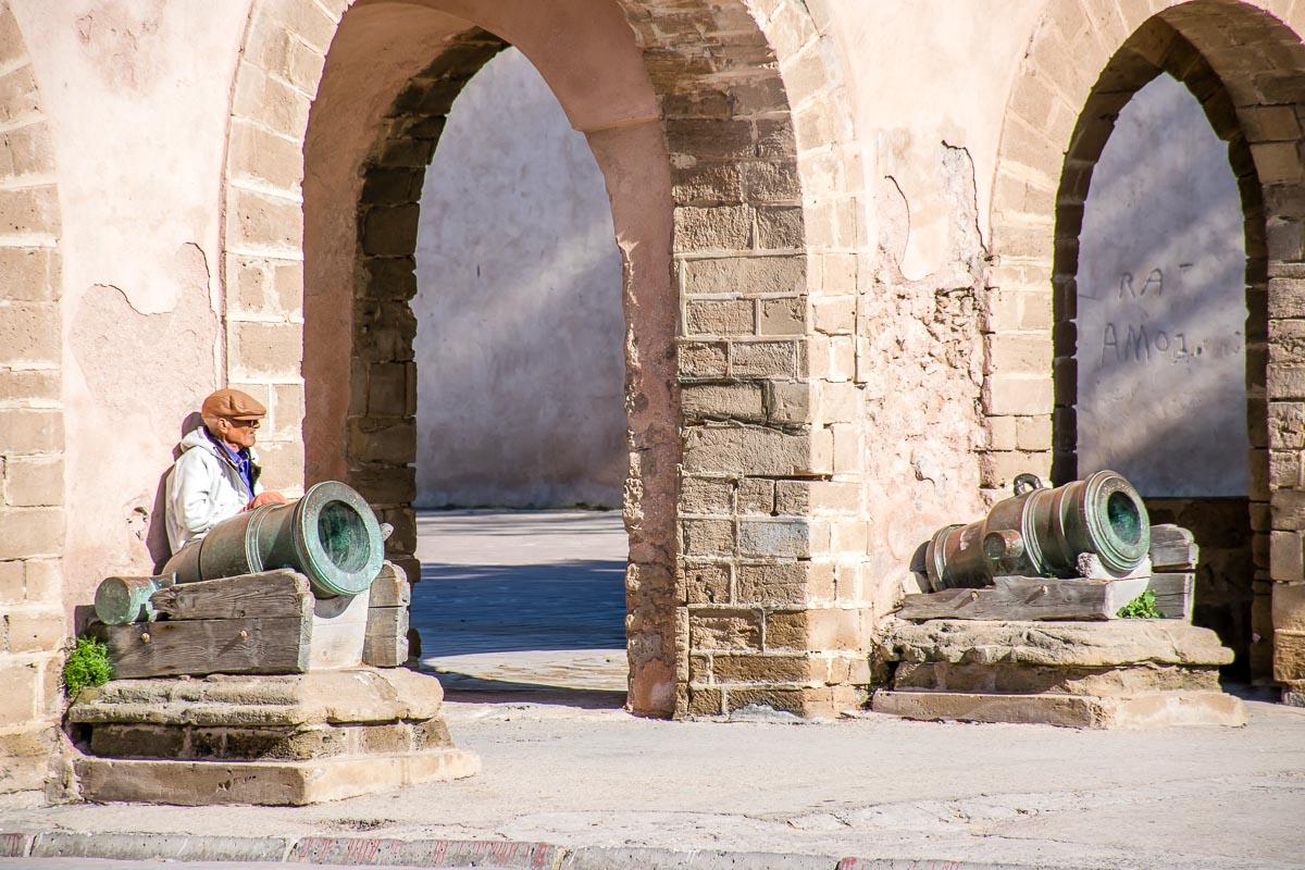 Cannoni a Essaouira