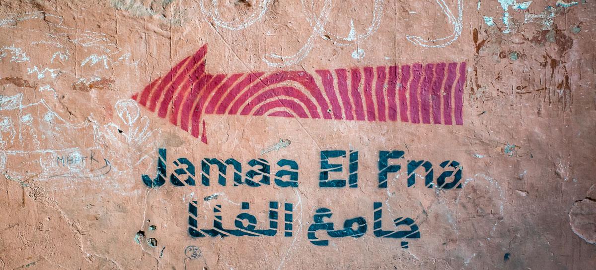Indicazioni per Jamaa el Fna