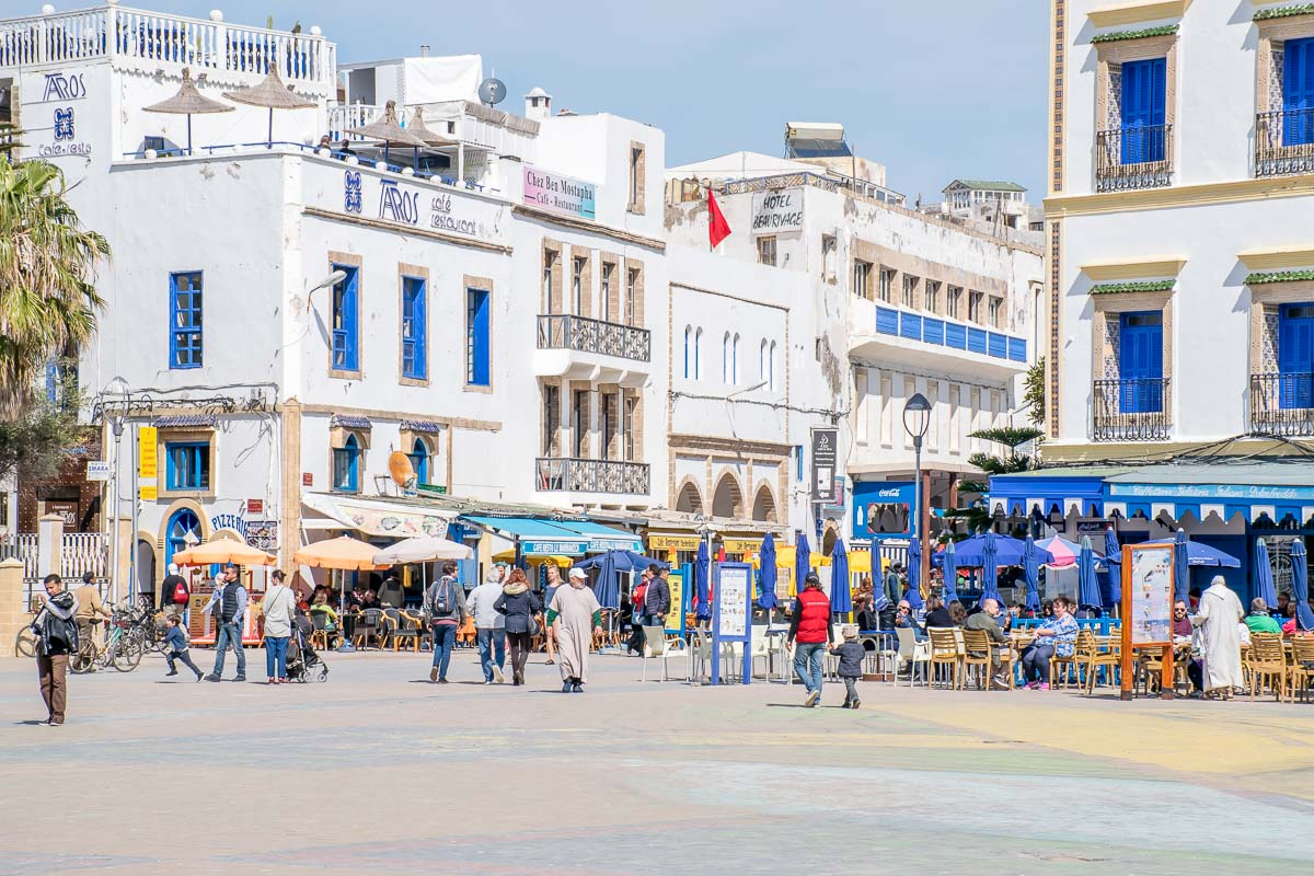 Piazza Moulay-Hassan Essaouira