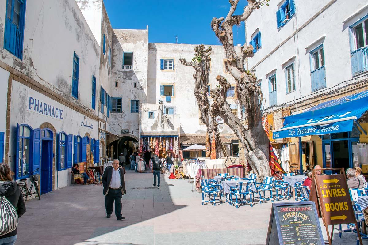 Via caratteristica di Essaouira