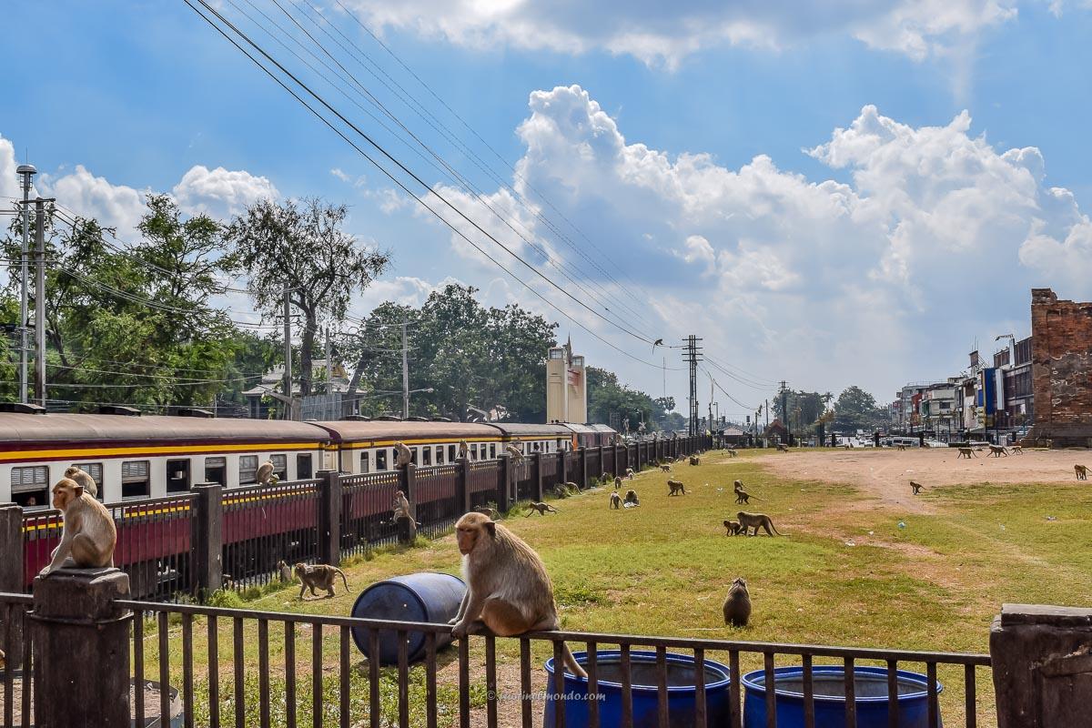 Treno a Lopburi