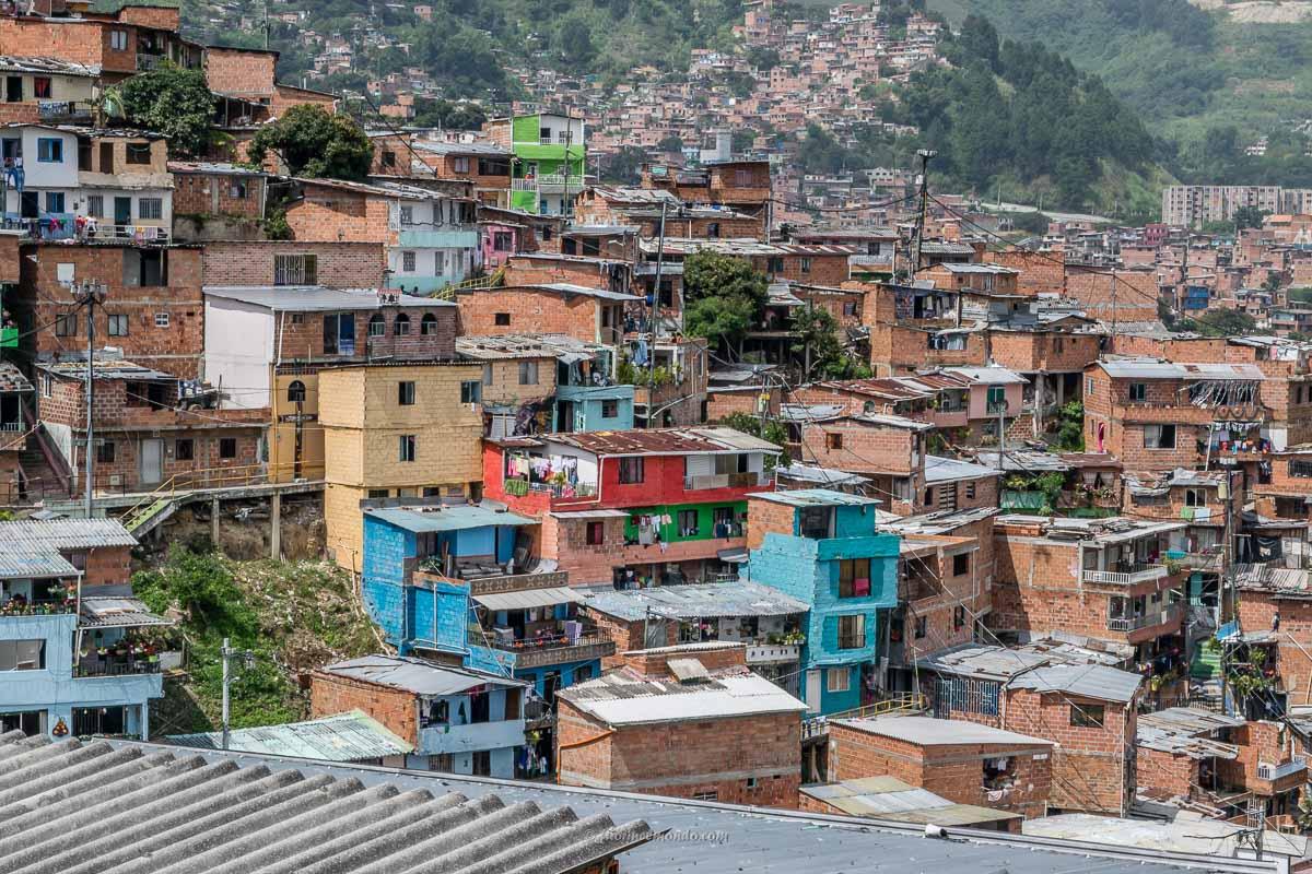 Case nella Comuna 13 Medellín