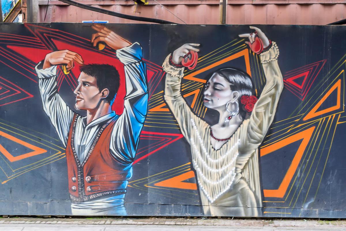 Murales ballerini Bogotà