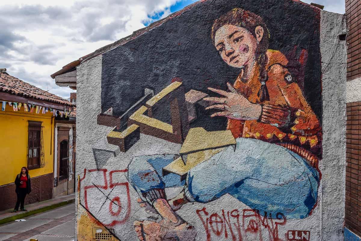Murales gigante a Bogotà