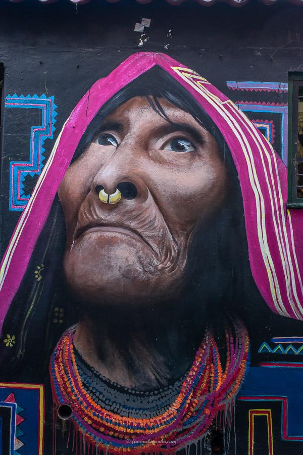 Murales indigena Bogotà