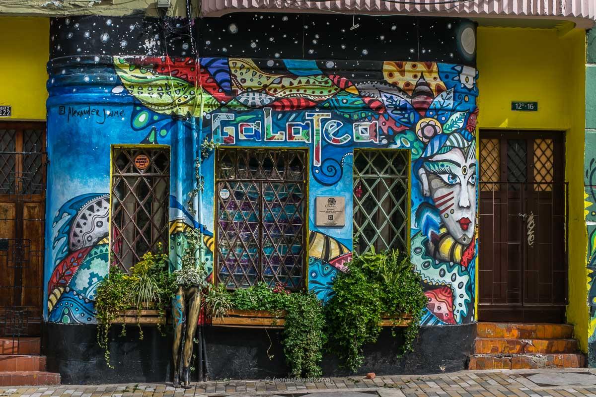 Murales negozio Bogotà