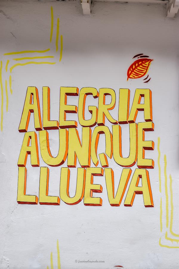 Scritta murales a Bogotà