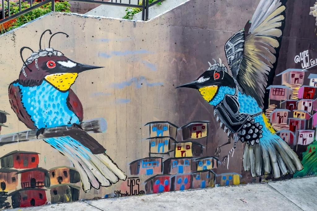 Murales elicotteri, Comuna 13