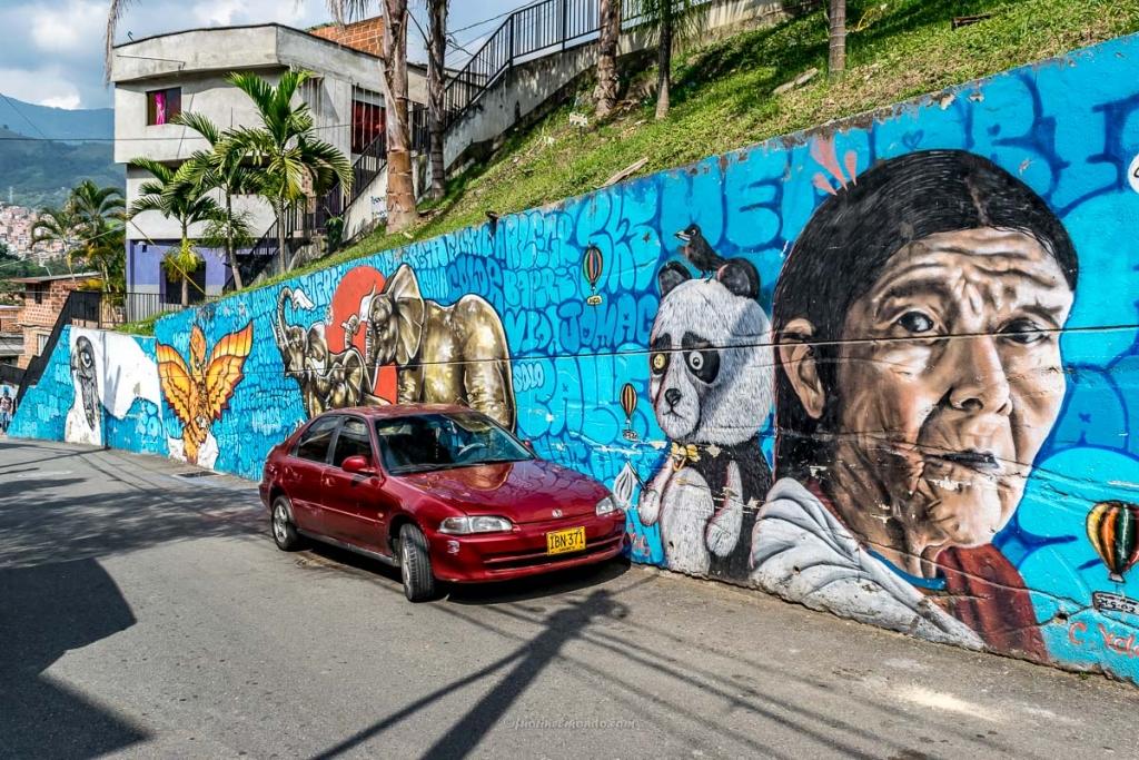 Murales Operación Mariscal, Comuna 13