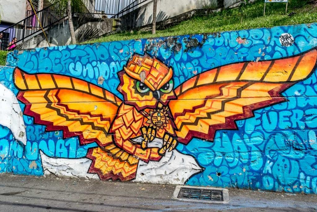 Murales Civetta, Comuna 13